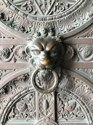 Amazing knocker in Marseille, in the cathedral on the top of the hill.