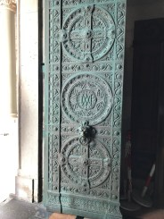 A look at the full door in Marseille.