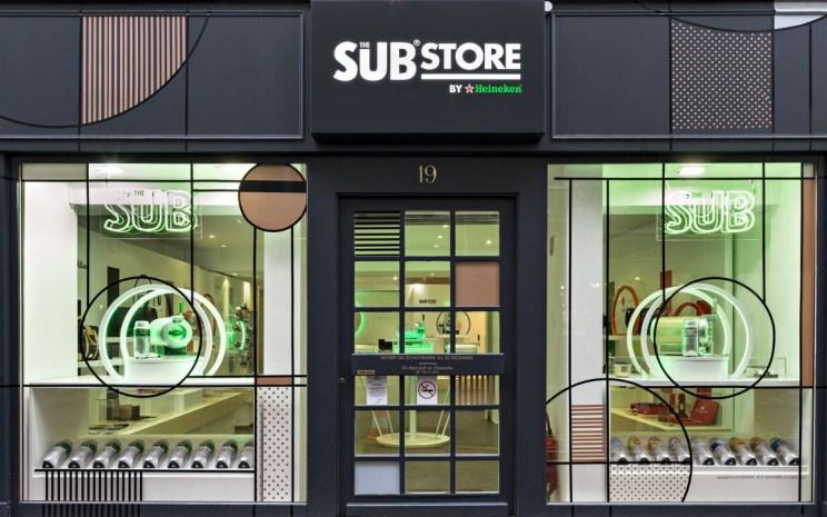 Pop-up Store Heineken Sub Store