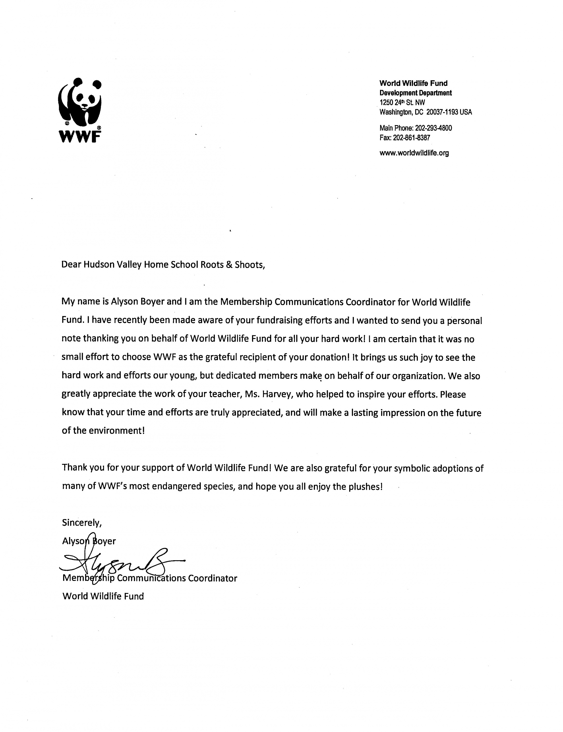 Free 003 Template Ideas Community Service Letter