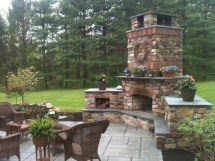 Outdoor Fireplaces Earthscape Company