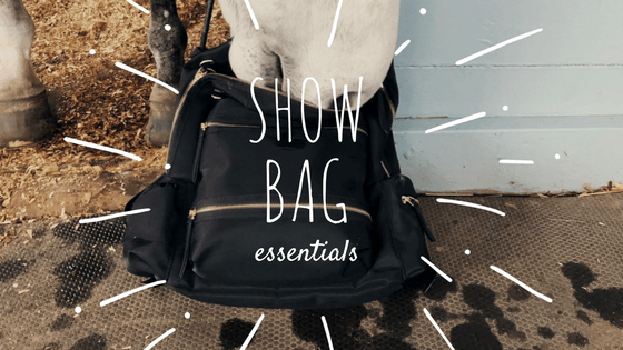 Show/Barn Bag Essentials