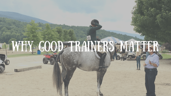 Why Good Trainers Matter