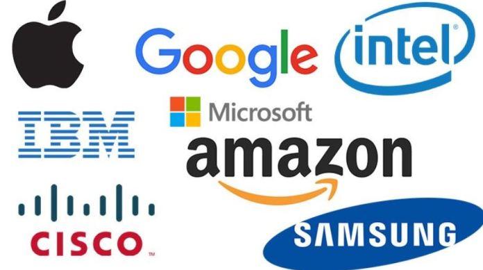major websites