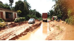 Image result for Umuahia-Ekpene road