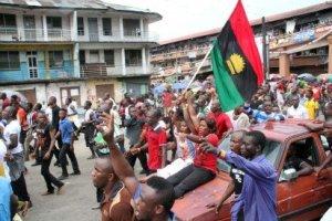 Pro-Biafra protests in Port Harcourt