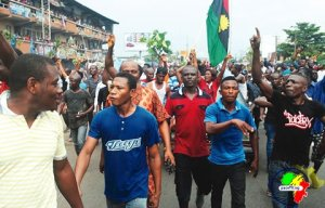 Biafra protests
