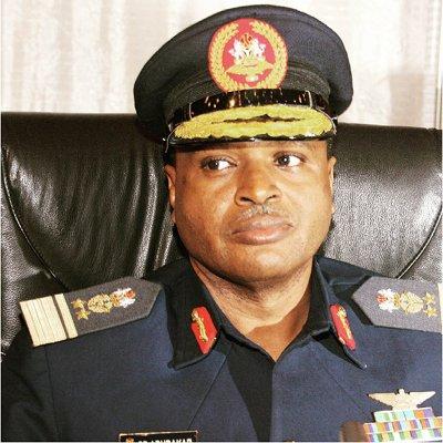 Chief of Air Staff, Air Marshal Sodique Abubakar