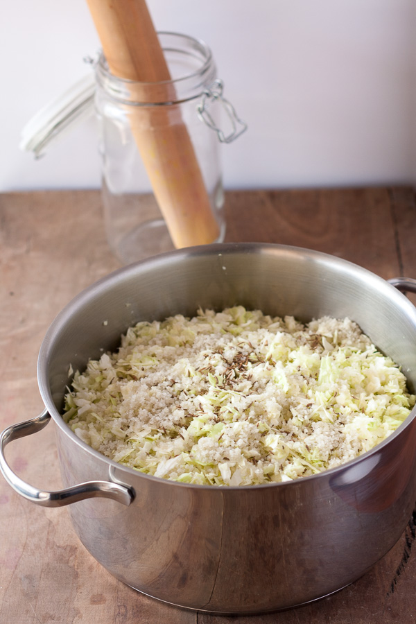 Natural Probiotic - Cabbage Sauerkraut