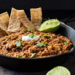 Easy Vegetarian One Dish Mexican Quinoa, gluten free protein rich meal ready in 25 minutes.