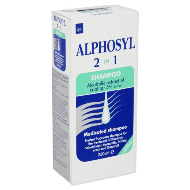 Alphosyl 2 in 1 Shampoo – 250ml – Easy Pharmacy