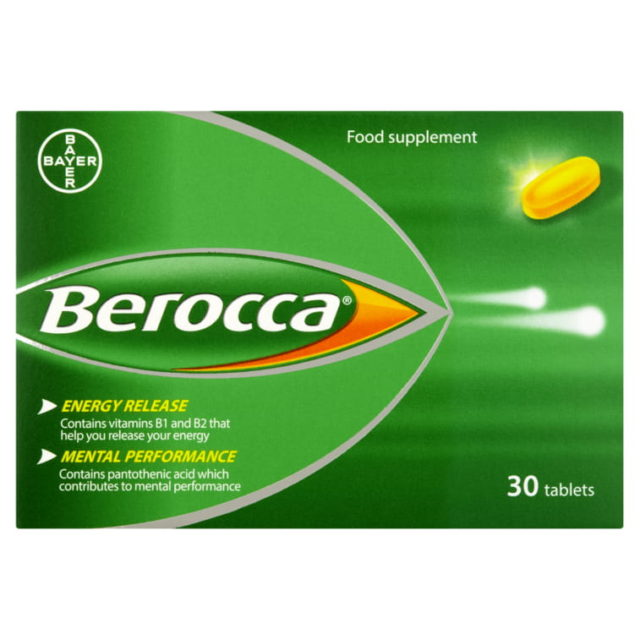 Berocca Orange Effervescent Vitamin Energy Tablets 30S – Easy Pharmacy