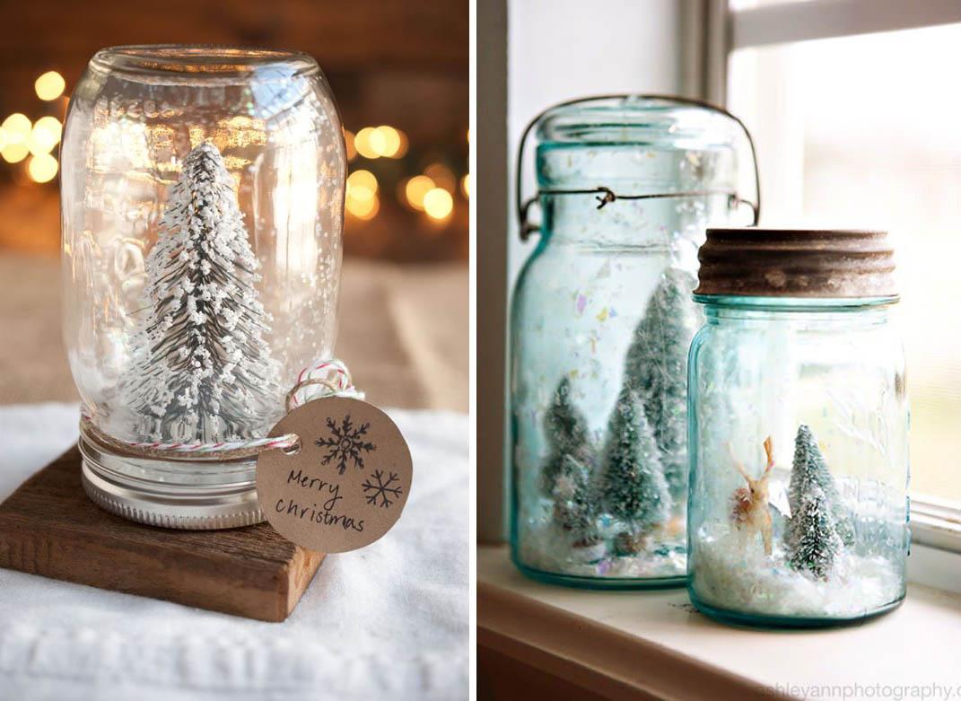 Lavoretto di riciclo creativo natalizio facile e bello per i vostri. Arredamento Moderno Barattoli Natalizi Fai Da Te