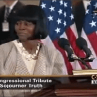 Cicely Tyson as Sojourner Truth