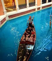 Gondola Ride at the Venetian Macau