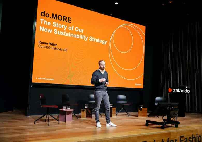 Zalando CEO Rubin Ritter Presents do More Sustainable Strategy