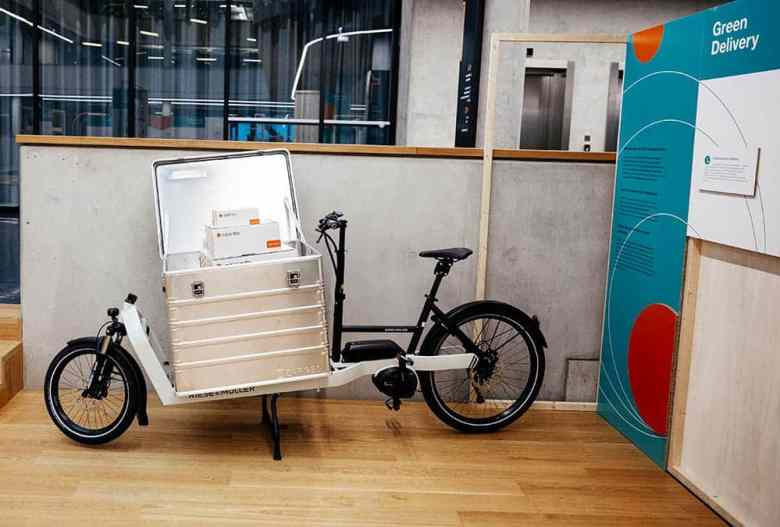 Eco-Friendly Last-Mile Delivery Bikes