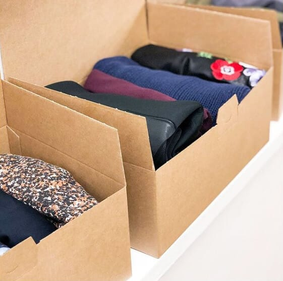 Rental fashion clothe in box from Hack Your Closet