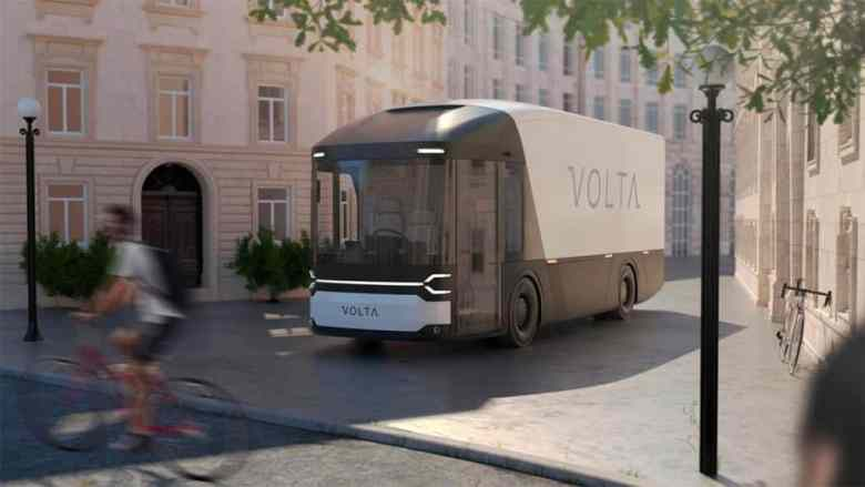 Volta Zero Electric Truck The Ecobahn