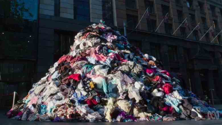 ABC War on Waste- 6 tonnes fashion waste every 10 mins