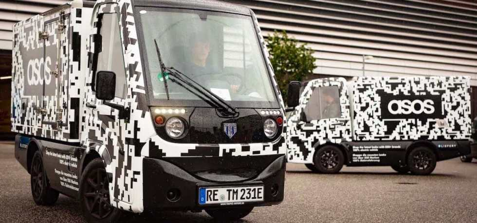 ASOS Electric Vehicle Pilot with Liefery The Ecobahn