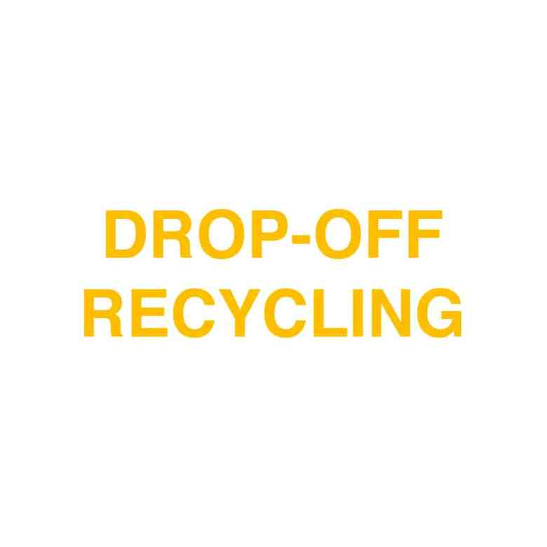 The Ecobahn Drop-Off Recycling