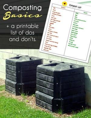 Composting printable