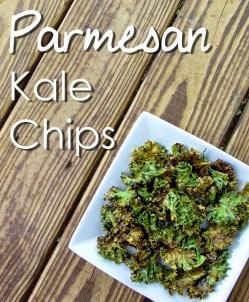 Parmesan Kale Chips Recipe