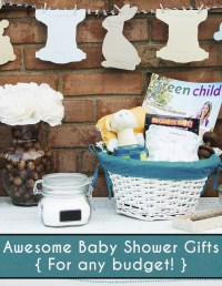 Fluffin' Awesome Baby Shower Gift Ideas