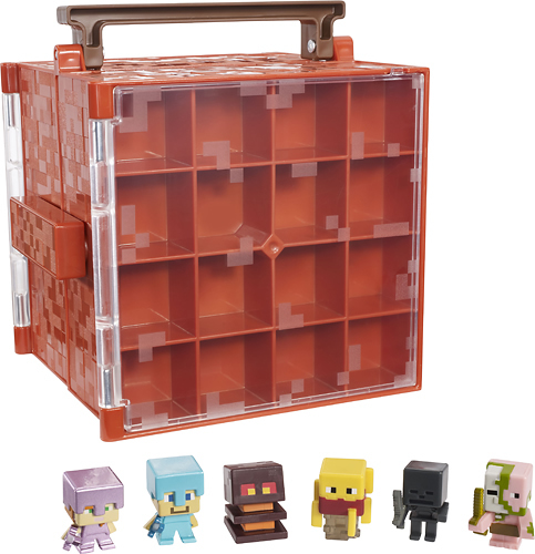 Minecraft Minifigs with Case Best Buy