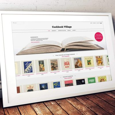 Cookbook Village – how an Ebay listing led to a thriving business
