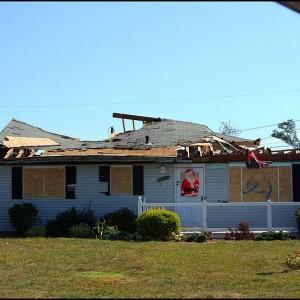 Tornado Damage - Photo by JOE M500