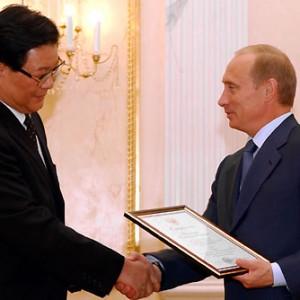 Vladimir_Putin_with_Zhang_Deguang