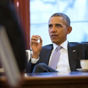 Barack Obama habla sobre Estrategia Con Personal de Seguridad Nacional - Dominio Público