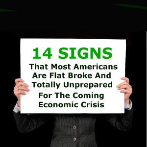 14 Signs Americans Are Flat Broke
