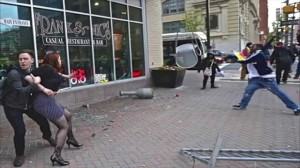 Baltimore Riots - YouTube Screenshot