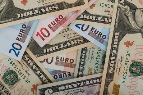 Dollars And Euros - Public Domain
