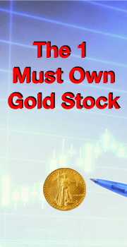 The 1 Must Own Gold Stock