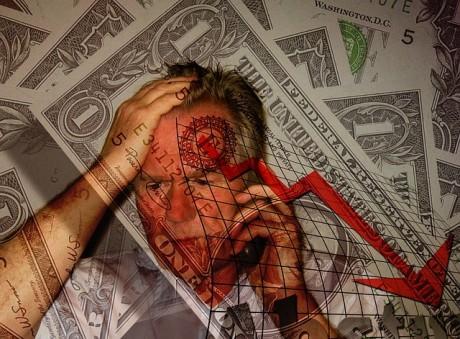 Financial Despair - Public Domain