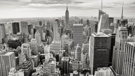 Manhattan Stock Market Crash In 2015 - Public Domain