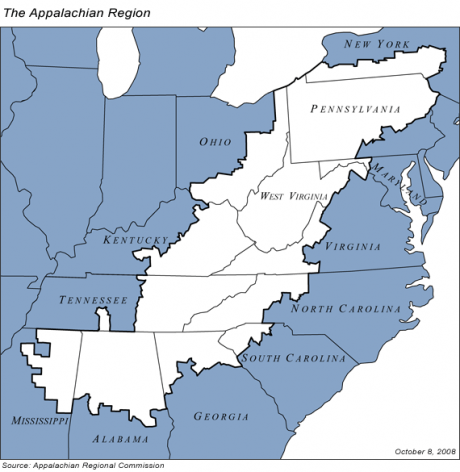 Appalachia - Photo from the Appalachian Regional Commission