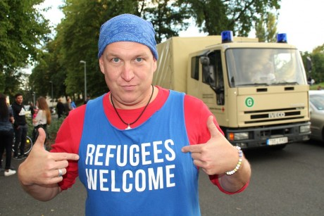 Refugees Welcome - Public Domain