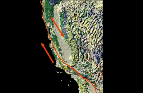 Pacific Plate And The North American Plate