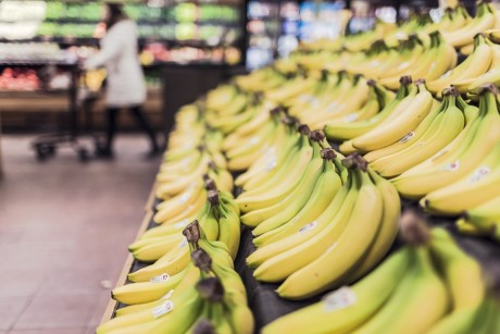 Supermarket Bananas - Public Domain