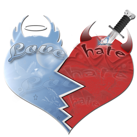 Love Hate - Public Domain