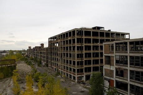 The Ruins Of Detroit - Photo by Csmcm