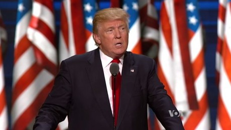 Donald Trump Accepts The Nomination - Public Domain