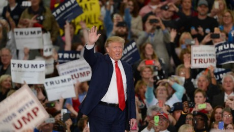 Donald Trump Waving - Public Domain