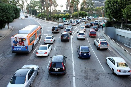 Traffic Jam Los Angeles - Photo by Prayitno