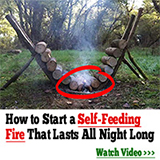 self feeding fire